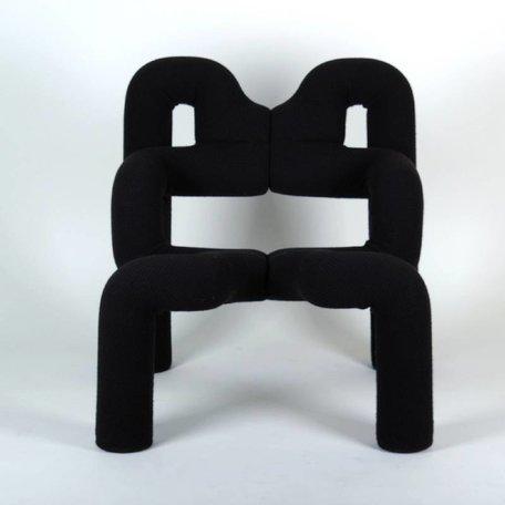 Terje Ekstrøm Ekstrem chair Stokke Varier black