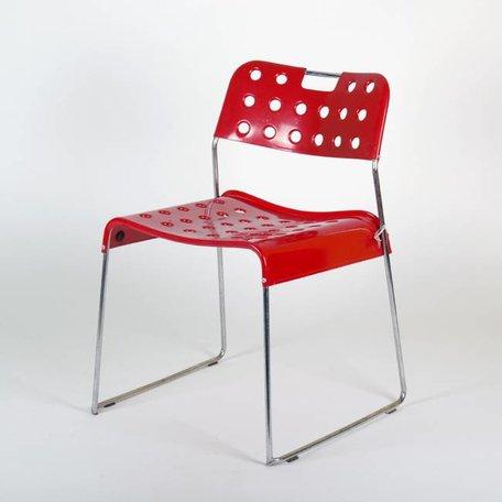 Rodney Kinsman Omstack Chair Bieffeplast rood