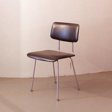 Cordemeyer 1262 stoel - Zwart kunstleer