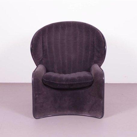 Strassle Lotus fauteuil van polyester zeldzaam model  70's