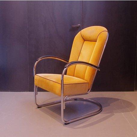 Gispen AA fauteuil Dutch Originals stof naar wens