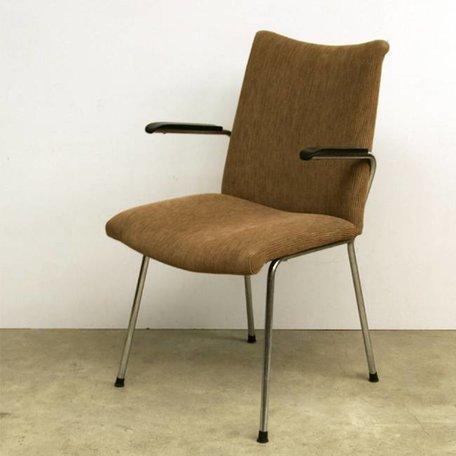 De Wit 3114  stoel- Lichtbruin ribstof