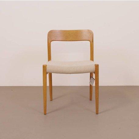 Møller 75 stoel - Eiken