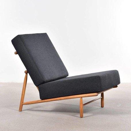 Alf Svensson fauteuil Type 12 Dux antraciet wolvilt