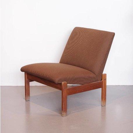 Cees Braakman Pastoe fauteuiltje bruin