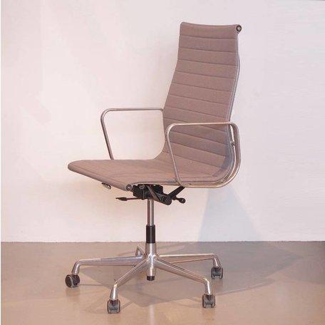 Eames ea119 bureaustoel grijs hopsak Vitra
