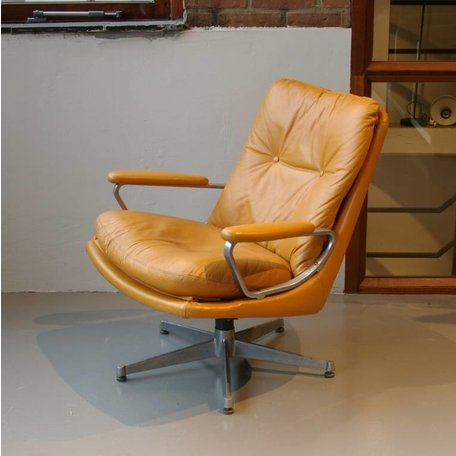 1960s Strassle Lounge Chair leer