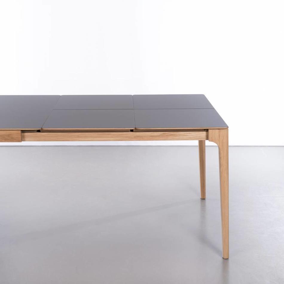 Beuken Uitschuifbare Eettafel.Rikke Tafel Uitschuifbaar Beuken