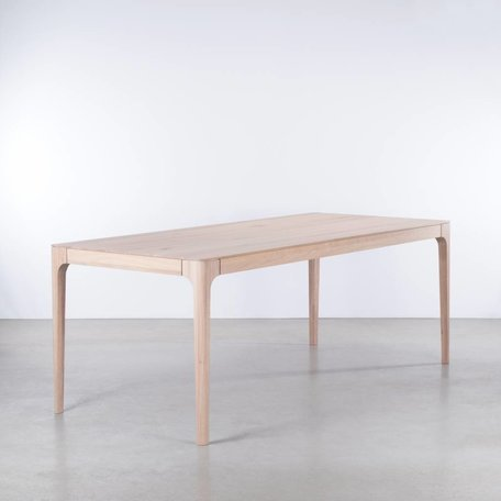 Rikke Table Extendable Oak whitewash