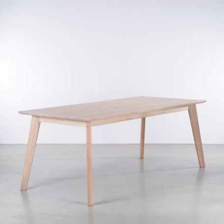 Gunni table extendable Oak whitewash