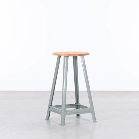 Bauhaus Barkruk 65cm cementgrijs