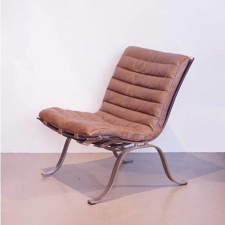Norell Ariet lounge fauteuil vintage leer