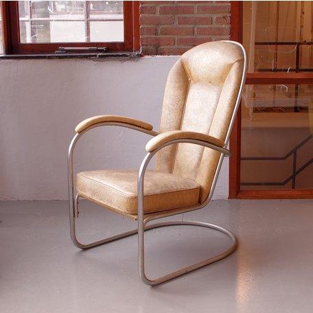 Gispen AA fauteuil origineel jaren 50