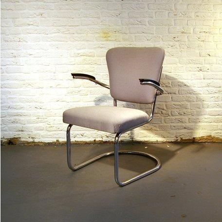 Galvanische Industrie vergaderfauteuil - Stof naar wens