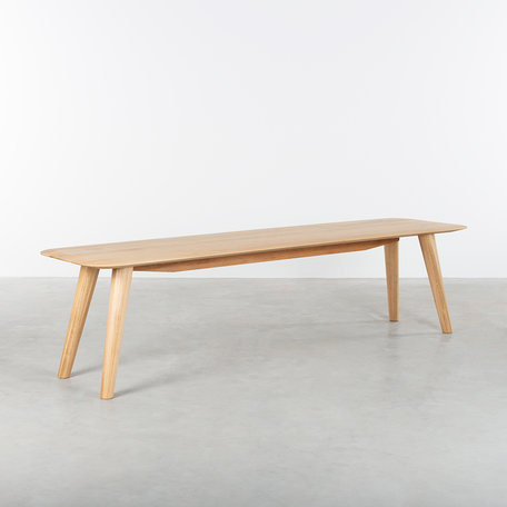 Olger Dining Table Bench Oak