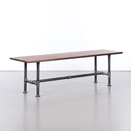 Ditte Dining table bench Walnut