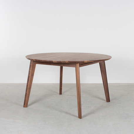 Nonne Table Round Extendable Walnut