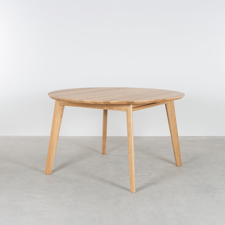 Nonne Table Round Extendable Oak
