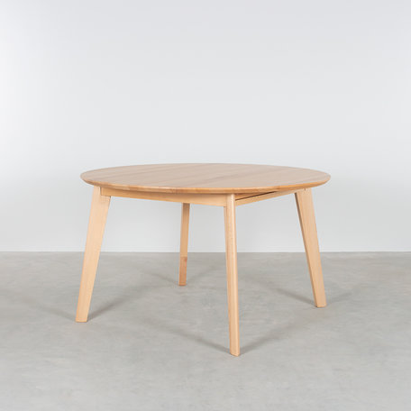 Nonne Table Round Extendable Beech