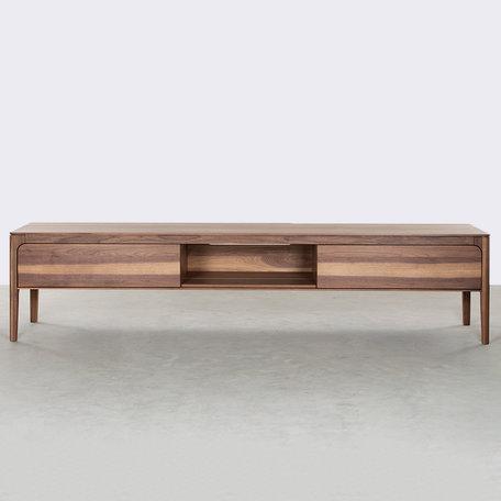 Rikke TV Cabinet Walnut 200 cm