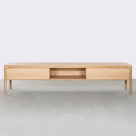Rikke TV Cabinet Oak 200 cm