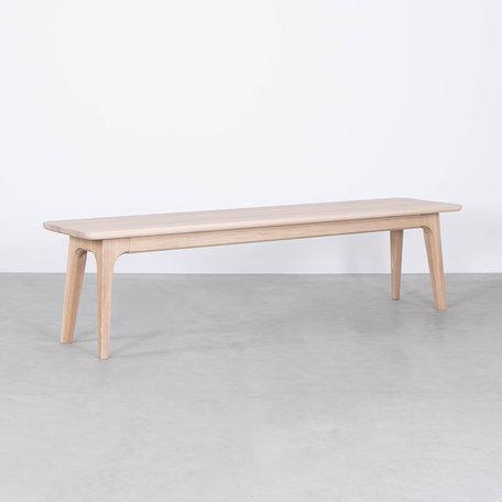 Fjerre Dining table bench Oak Whitewash