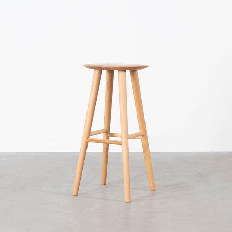 Olger Bar stool Beech