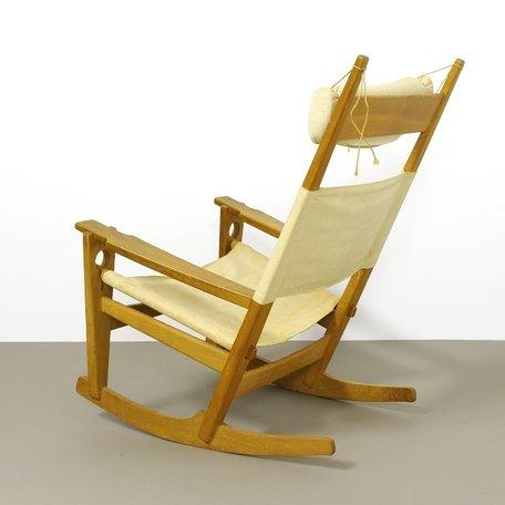 Wegner schommelstoel GE-673  - Eiken