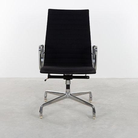 Eames EA119 bureastoel zwart hopsak Herman Miller jaren 70
