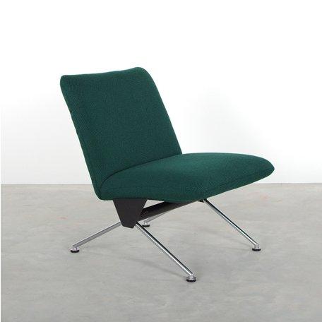 Gispen 1431 fauteuil donkergroen A.R. Cordemeyer