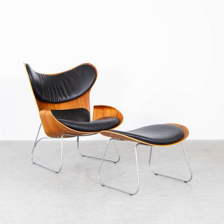 Gioia Meller Marcovicz fauteuil + hocker Classicon