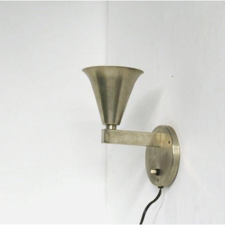 Gispen 4021 Wandlampje nikkel zonder kap