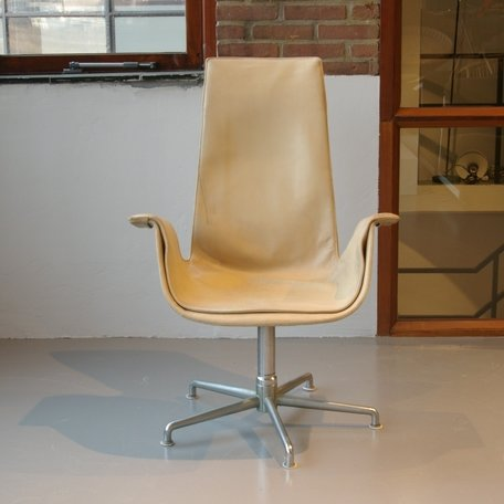 Fabricius & Kastholm FK Tulip Chair - Leer