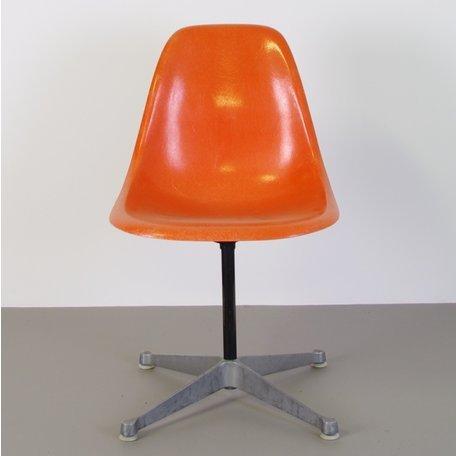 Eames Fiberglass PSC chair - Orange