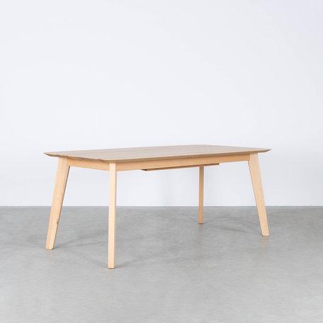 Nonne Table Straight Extendable Beech