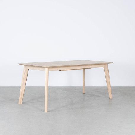 Nonne Table Straight Extendable Oak Whitewash