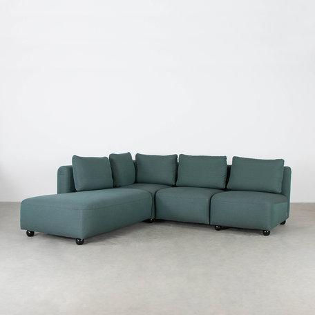 Green elements sofa Adventure fabric