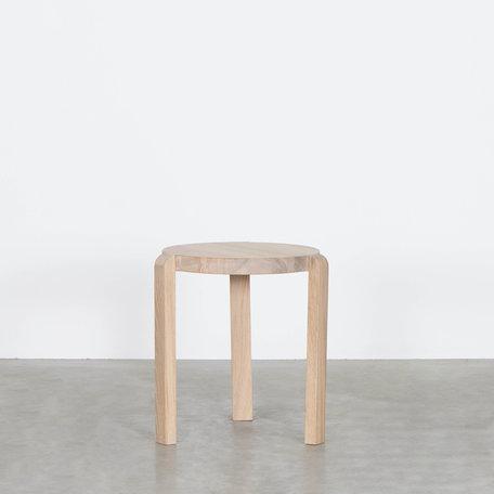Fraek Side table Oak Whitewash