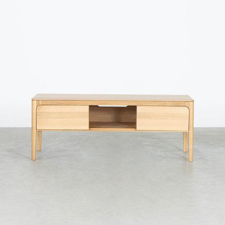 Rikke TV Cabinet Oak - 120 cm