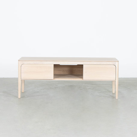 Rikke TV Cabinet Oak Whitewash - 120 cm