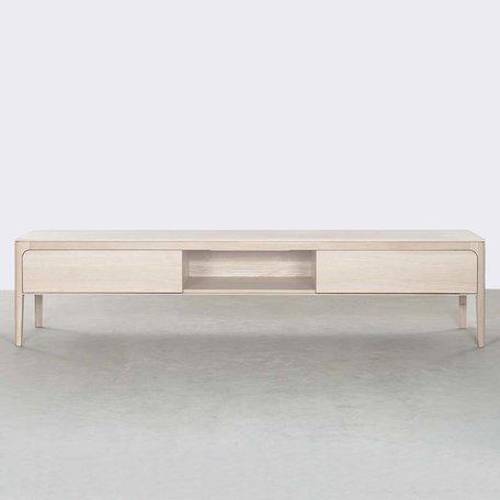 Rikke TV Cabinet Oak Whitewash 200 cm