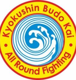 Kyokushin Budokai All Round Figthing logo embroidery