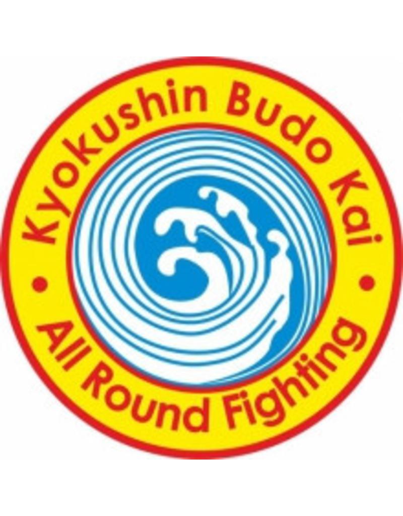 ISAMU Kyokushin Budokai All Round Figthing logo borduring