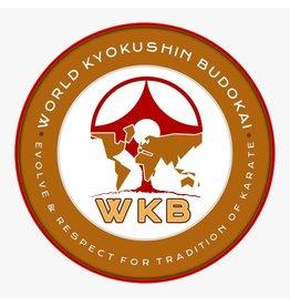 ISAMU World Kyokushin Budokai Logo borduring