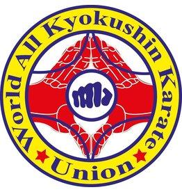ISAMU WORLD ALL KYOKUSHIN KARATE UNION LOGO EMBROIDERY
