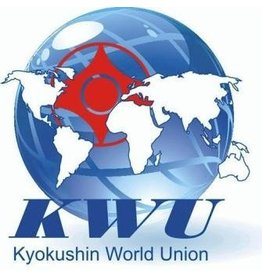 ISAMU Kyokushin World Union logo embroidery