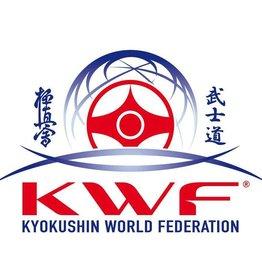 Kyokushin World Federation logo embroidery