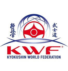 ISAMU Kyokushin World Federation logo borduring