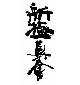 Shin-Kyokushin Kanji borduring - Navy blauw