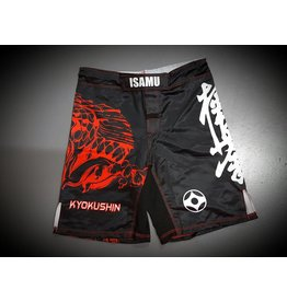 ISAMU 勇ISAMU KYOKUSHIN KARATE FIGHT SHORTS-RYUU ZW/ROOD | OP=OP